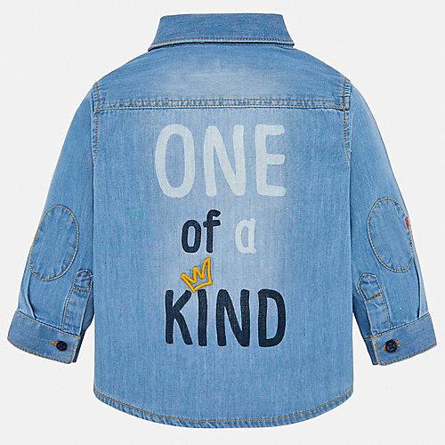 Джинсовая рубашка Mayoral - синий от Mayoral