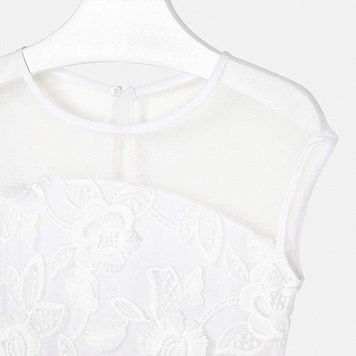 Нарядное платье Mayoral - белый от Mayoral