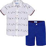 Комплект Mayoral: рубашка и шорты