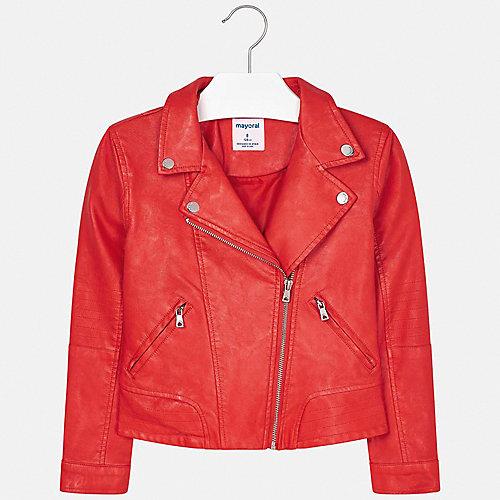 Кожаная куртка Mayoral - оранжевый от Mayoral