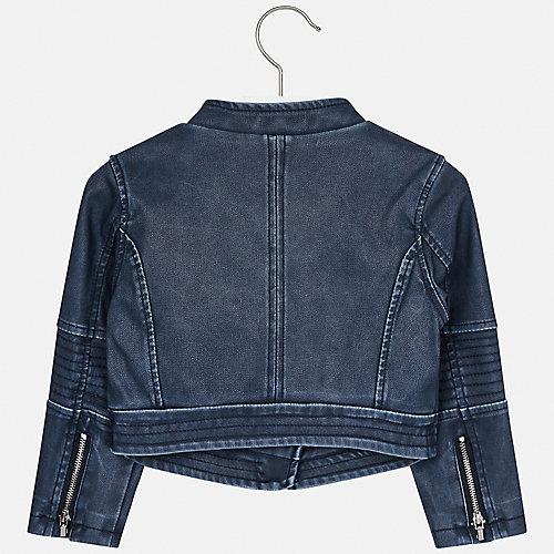 Кожаная куртка Mayoral - синий от Mayoral