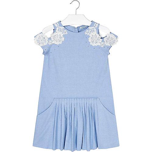 Платье Mayoral - голубой от Mayoral