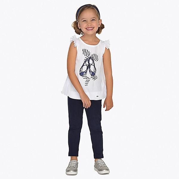 Комплект: Туника и брюки Mayoral для девочки