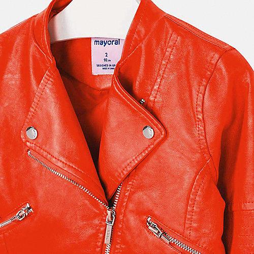 Кожаная куртка Mayoral - красный от Mayoral