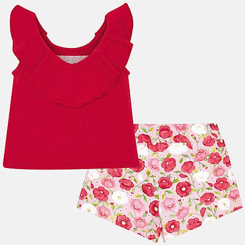 Комплект Mayoral: майка и шорты - красный от Mayoral