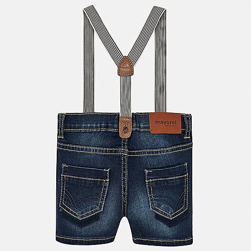 Джинсовые шорты Mayoral - темно-синий от Mayoral