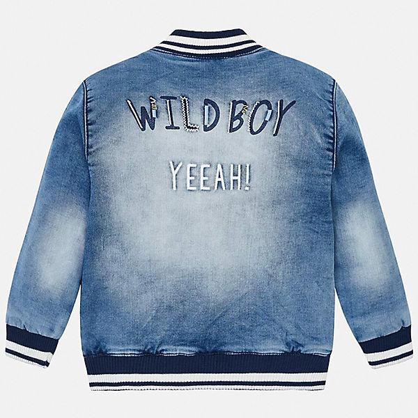 Куртка джинсовая Mayoral для мальчика