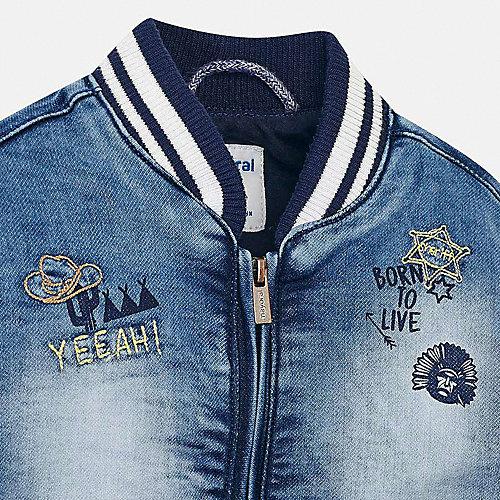 Джинсовая куртка Mayoral - синий от Mayoral