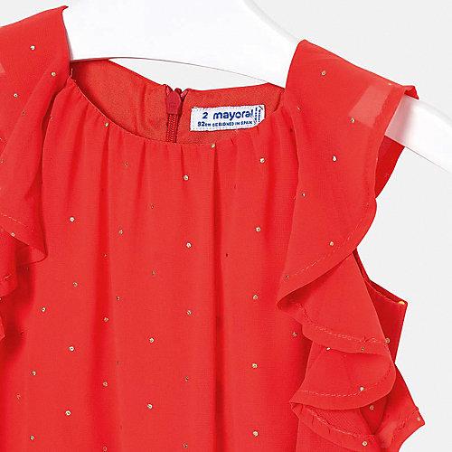 Платье Mayoral - оранжевый от Mayoral