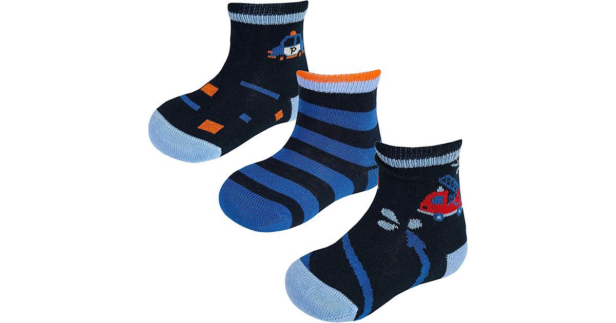 MaxiMo · Socken 3er Pack Gr. 27-30 Jungen Kinder