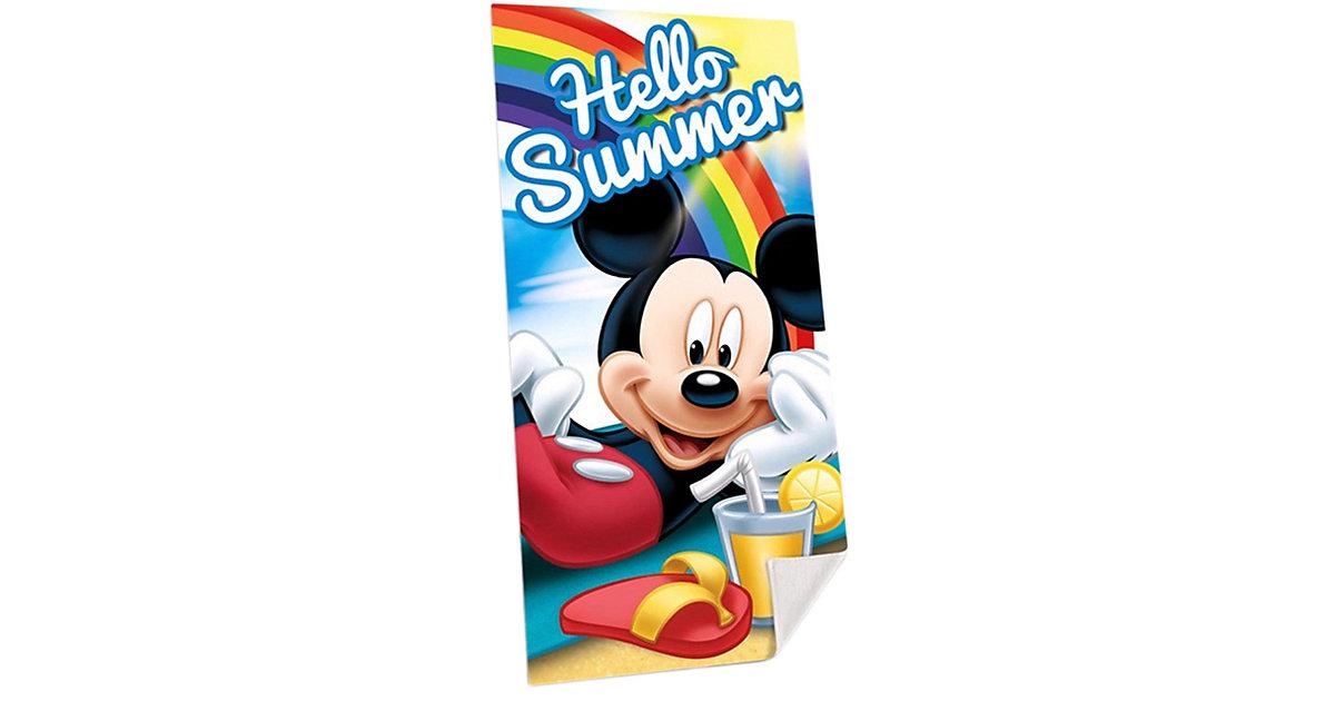 Disney · Micky Maus Strand- und Badetuch, 75 x 150 cm