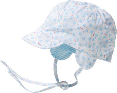 Baby Jungs Mütze in weiß Sterntaler 1501731