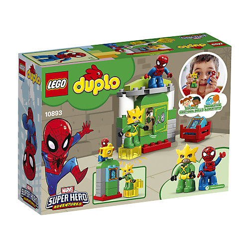 Конструктор LEGO DUPLO Super Heroes 10893: Человек-Паук против Электро от LEGO