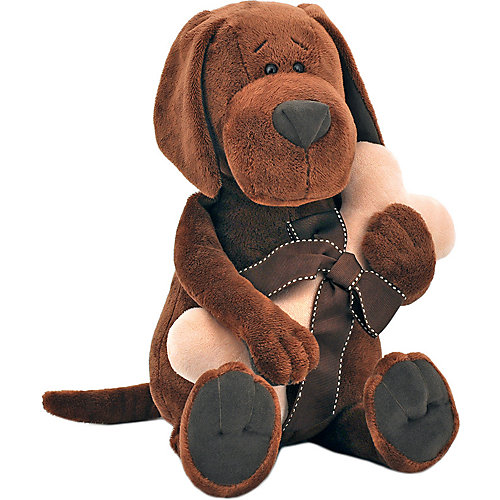 Мягкая игрушка Orange Life Пёс Барбоська с косточкой, 20 см от Orange