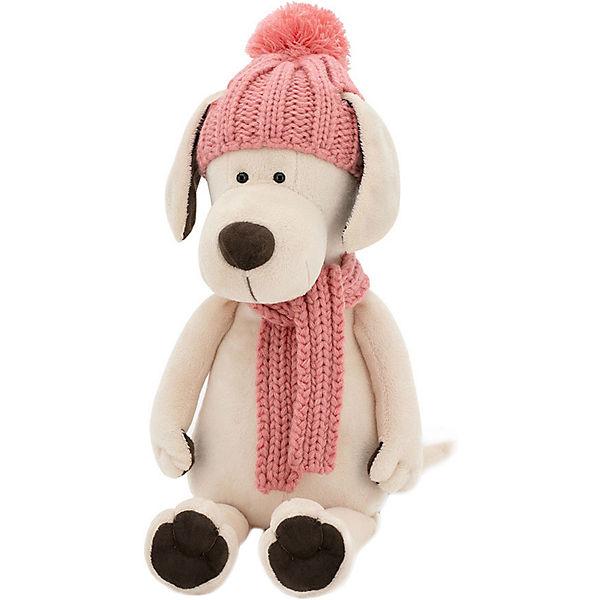 Мягкая игрушка Orange Life Собачка Лапуська: Зимние приключения, 25 см