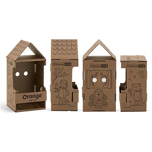 Мягкая игрушка Orange Life Енотик Дэнни: Вязаный сезон, 25 см от Orange