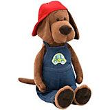 Мягкая игрушка Orange Life Пёс Барбоська: За рулём, 25 см