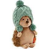 Мягкая игрушка Orange Life Ёжик Колюнчик: Зимние забавы, 20 см