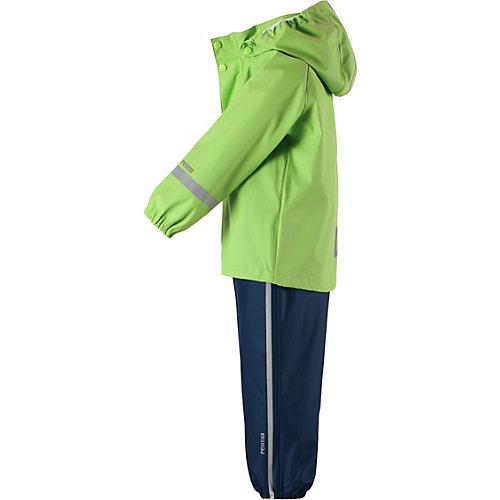 Комплект Reima Tihku: ветровка и брюки - зеленый от Reima