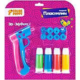 Набор для творчества Color Puppy с пистолетом и жидким пластилином, 4 цвета