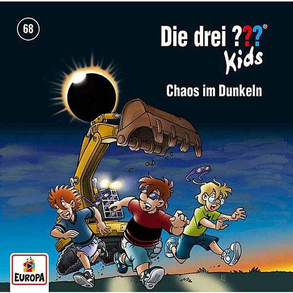 Cd Die Drei Kids 68 Chaos Im Dunkeln Die Drei Fragezeichen