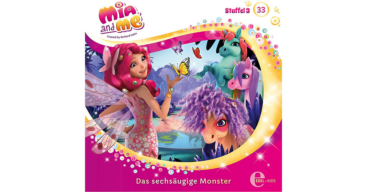 CD Mia and me 33 - Sechsaugen Monster Hörbuch