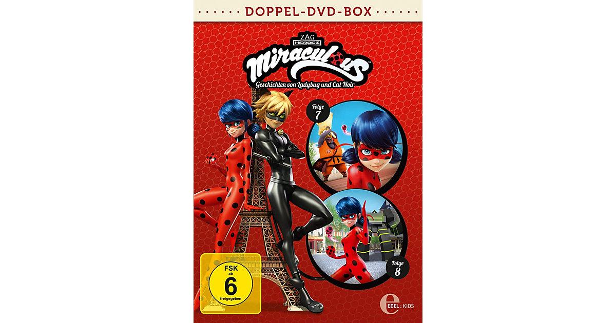 DVD Miraculous Doppelbox 4 - Folgen 7 + 8 (2 DVDs) Hörbuch