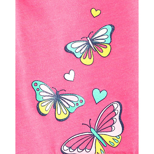 Комплект Carter's: футболка и юбка-шорты - розовый от carter`s