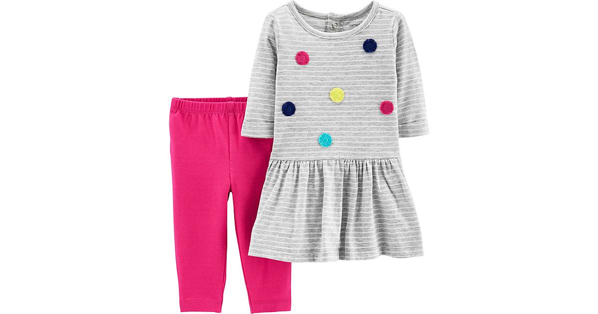 Carter´s · Baby Set Jerseykleid + Leggings Gr. 86 Mädchen Kleinkinder