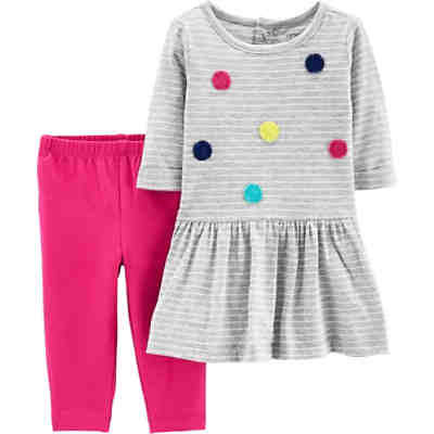 Baby Set Jerseykleid + Leggings