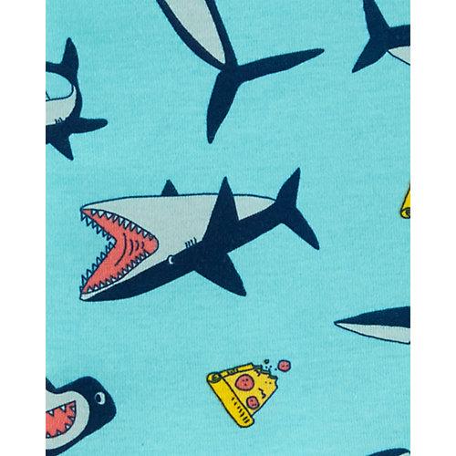 Пижама 2 шт carter's для мальчика - синий/оранжевый от carter`s