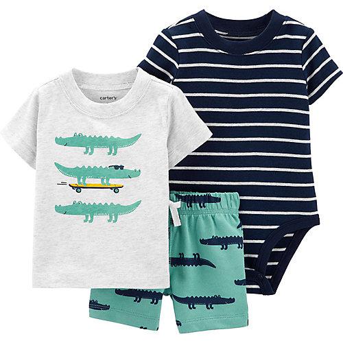 Комплект для новорожденного Carter's - синий/зеленый от carter`s