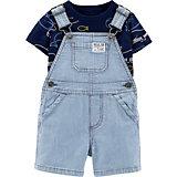 Комплект: футболка и полукомбинезон carter's для мальчика