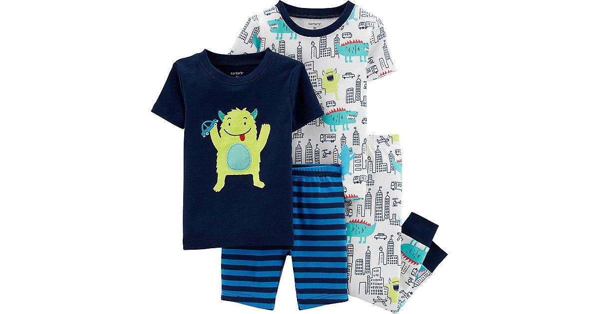 Carter´s · Schalfanzug Doppelpack Gr. 92 Jungen Kleinkinder