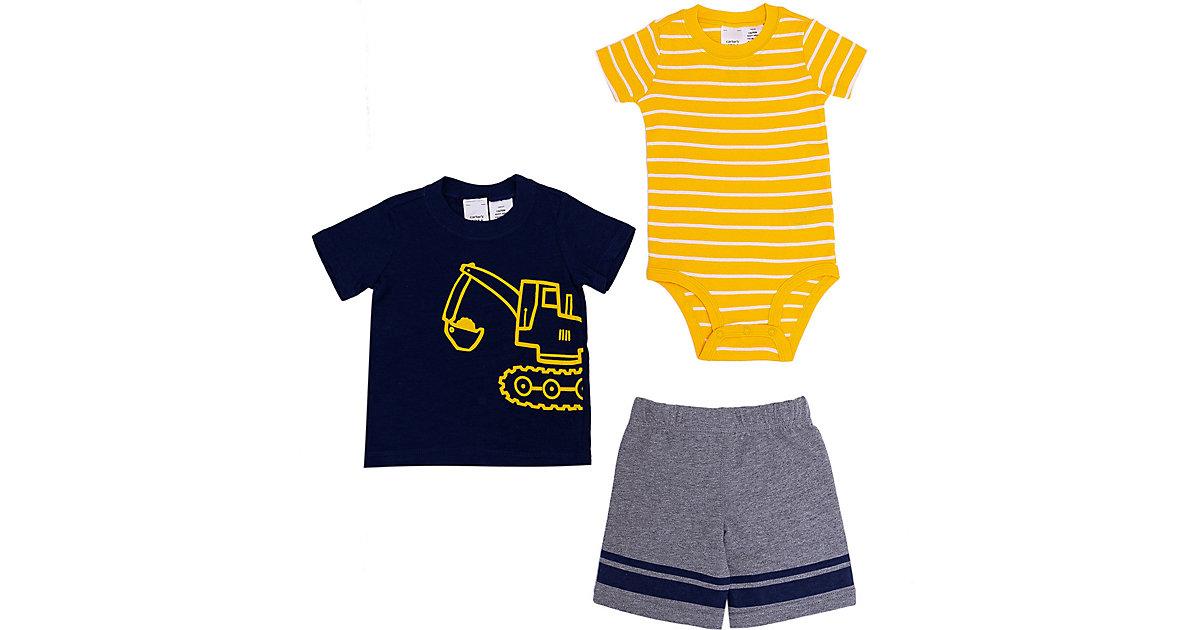 Carter´s · Baby Set T-Shirt + Kurzarmbody + Shorts Gr. 86/92 Jungen Kleinkinder