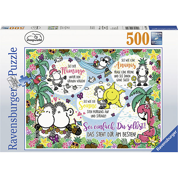 Puzzle 500 Teile, 49x36 cm, Sheepworld, Ravensburger