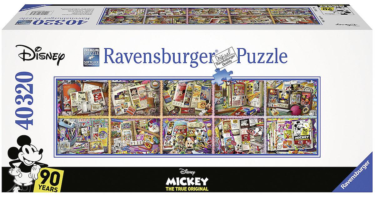 Ravensburger · XXXL Puzzle 40.320 Teile, 680x192 cm, Mickey`s 90. Geburtstag