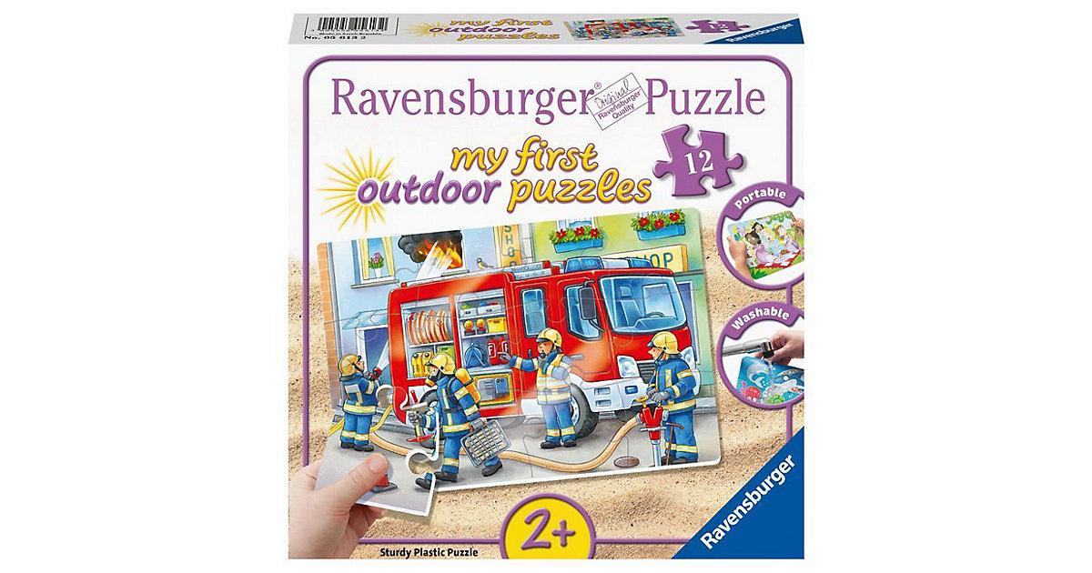 my first Outdoor-Puzzle, 12 Teile, 26x18 cm, Feuerwehr