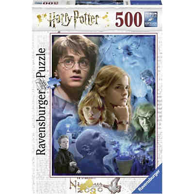 Puzzle 500 Teile, 49x36 cm, Harry Potter in Hogwarts