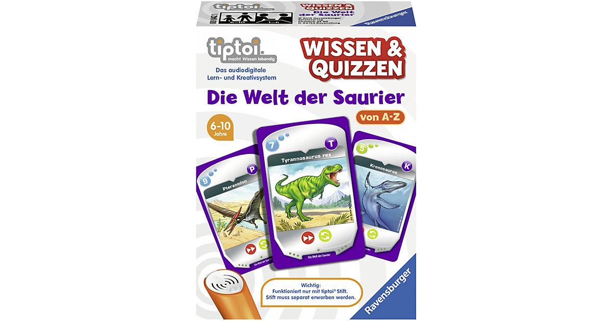 tiptoi® Wissen & Quizzen: Die Welt der Saurier (ohne Stift)