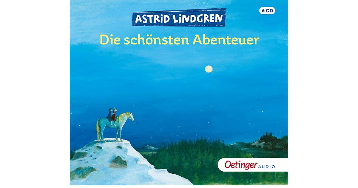 CD Astrid Lindgren - Die schönsten Abenteuer (6 CDs) Hörbuch