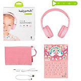 Наушники BuddyPhones Play Sakura, розовый