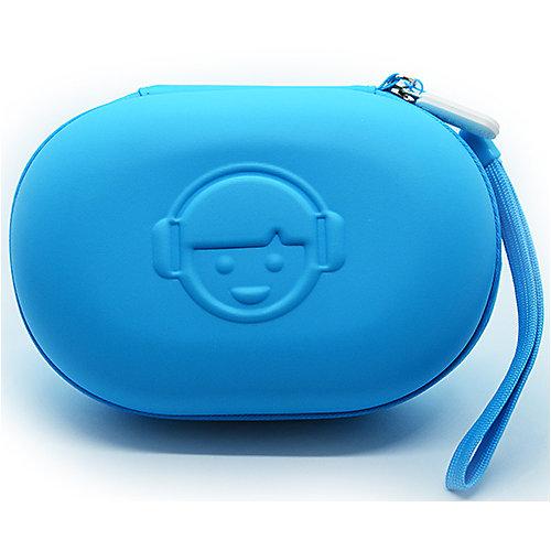 Кейс для наушников, синий