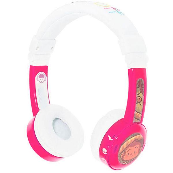 Наушники BuddyPhones InFlight, розовый
