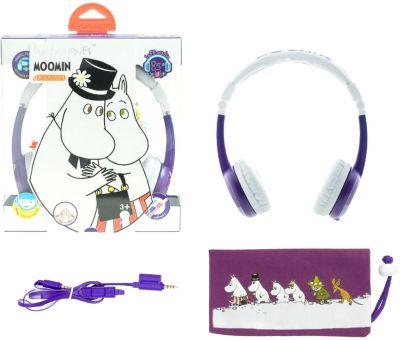 Наушники BuddyPhones Foldable Pama, фиолетовый