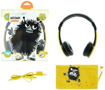 Наушники BuddyPhones Foldable Stinky, желтый