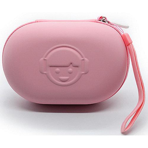 Кейс для наушников, розовый