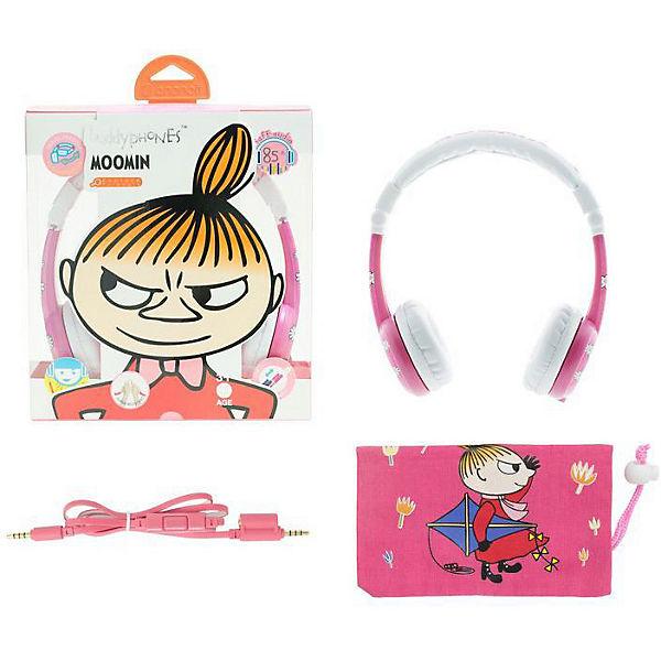 Наушники BuddyPhones Foldable Little My, розовый