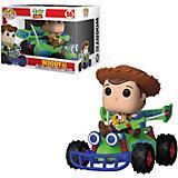 """Фигурка Funko POP! Rides: Disney """"История игрушек"""" Шериф Вуди на машине, 37016"""