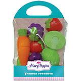 Игровой набор повара Mary Poppins, овощи и фрукты